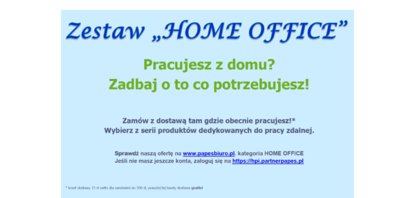 Zestaw Home Office - Fb